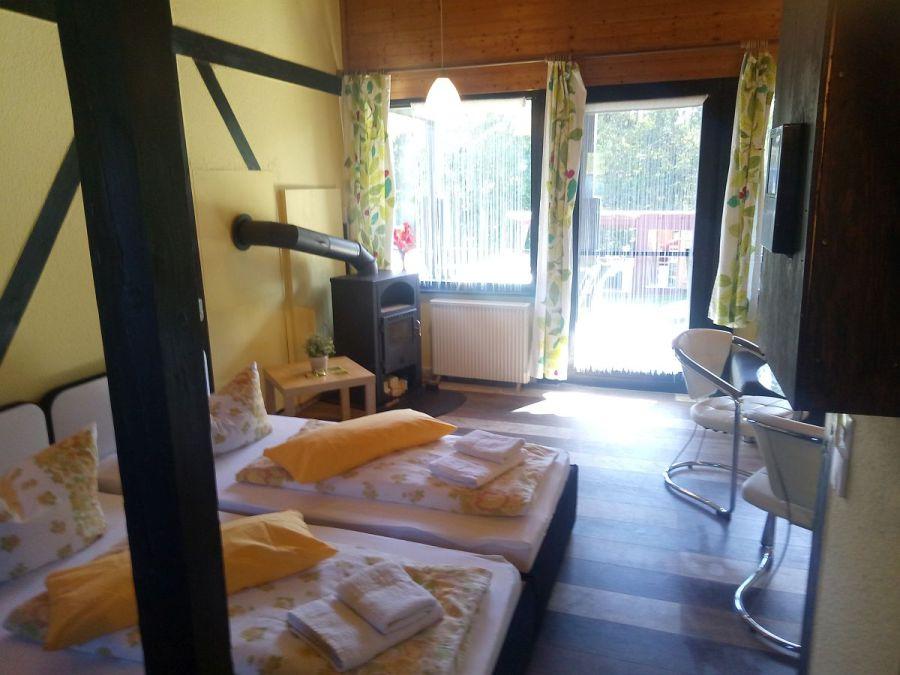 Ferienhaushotel zur grünen oase bühlerzell   romantik studio