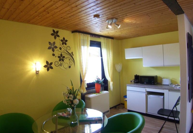 Ferienhaushotel Bühlerzell Appartent grüne Oase für 2 Personen + 1 Aufbettung