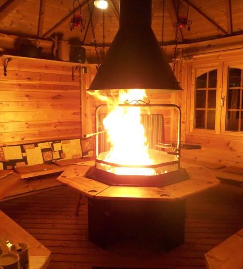 Ferienhaushotel Bühlerzell Finnische Grillhütte